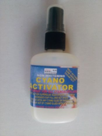 Cyanoacrylate Activator set spray super fast for all cyanoacrylate super glue CA set spray 50ml
